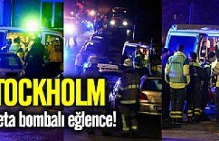 Stockholm'de ayar kaçınca şok patlama!