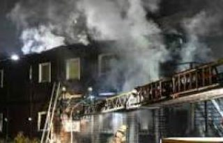 Stockholm'de korkutan yangın: 6 kişi yaralandı