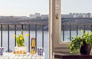 Stockholm'de küçücük bir daire şok fiyata...