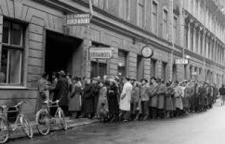 Stockholm'de ne kadar insan kiralık ev sırasında