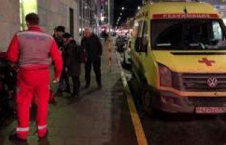 Stockholm'de Rus ambulansı şaşkınlığa neden...