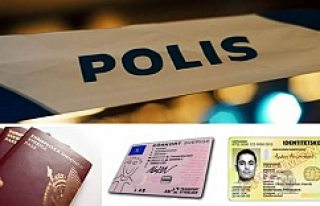 Stockholm'de sahte pasaport, kimlik ve ehliyet...