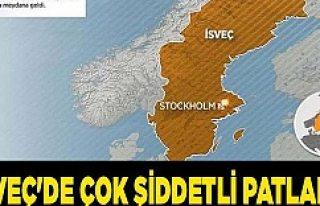 Stockholm'de Şiddetli Patlama: 10 yaralı