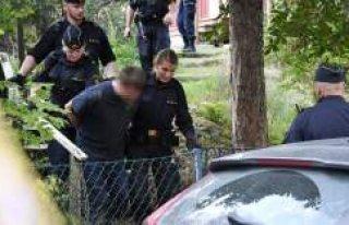 Stockholm'de sokakta ağır yaralı bir kişi...