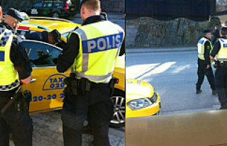 Stockholm'de ticari taksicilere sıkı kontrol