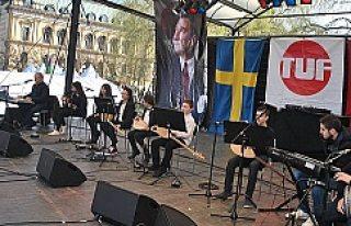 Stockholm'de Erken 23 Nisan Kutlaması Büyük...