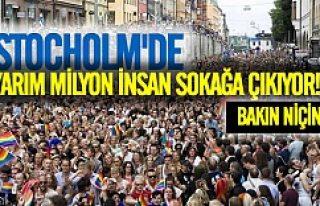 Stockholm LGBT için sokağa çıkıyor
