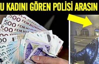 Stockholm polisi dolandırıcı kadın için çağrıda...