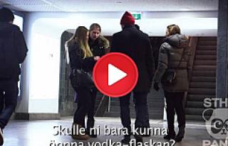 Stockholm'de 2 küçük sarhoş kız görseniz ne...