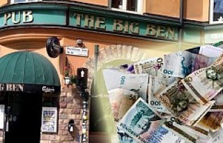 Stockholm'de Disko'da, 250 bin kron bulunan çantasını...