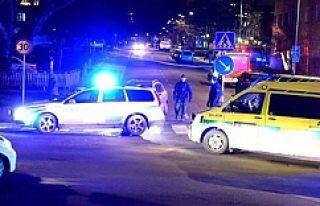 Stockholm'de maskeli soygun
