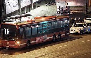 Stockholm'de saldırgan önce şoförü bıçakladı...
