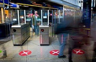 Stockholm'de Trene kaçak binenlere sert önlemler
