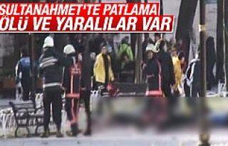 Sultanahmet Meydanı'nda patlama