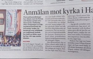 Süryani Kilisesine 1 milyon kron tazminat davası...