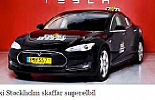 TAXİ Stockholm'e süper arabalar geliyor...