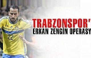 Trabzonspor Erkan Zengin için İsveç'e çıkarma...
