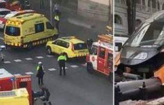Tren kazası: 48 yaralı