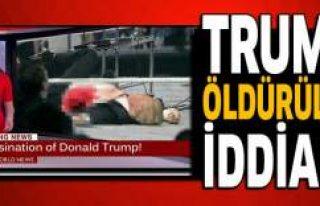 'Trump'a suikast' iddiası ortalığı...