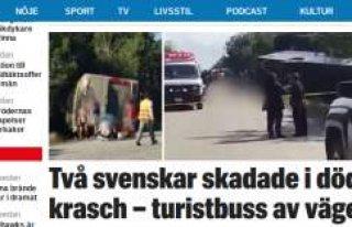 Turist otobüsü devrildi: 12 kişi öldü, 2 İsveçli...