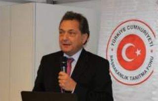 Türk Büyükelçi Türkmen İsveç Dışişleri Bakanlığı'na...