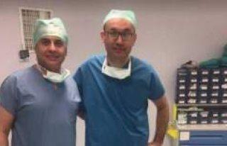 Türk doktorlar İsveç'te cerrahi operasyona...