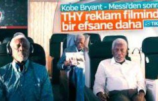Türk Hava Yolları'nın Morgan Freeman'lı...