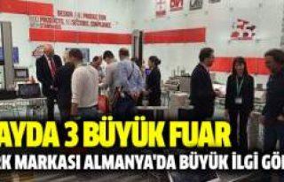 Türk Markası 2 Ayda 3 büyük fuarda büyük ilgi...