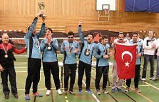 Türk Milli Takımı Malmö'de şampiyon oldu