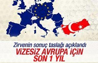 Türk vatandaşları, Avrupa ülkelerine bir sene...