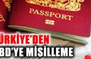 Türkiye ABD vatandaşlarının vize başvurularını...