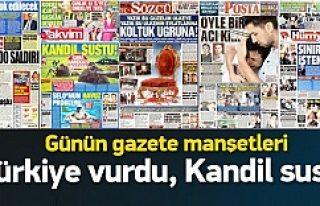 Türkiye gazete manşetleri 27.07.2015