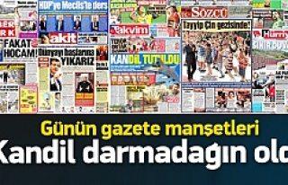 Türkiye: Gazete manşetleri 30.07.2015