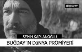 """Türkiye, İsveç Ortak Yapımı """"Buğday""""..."""