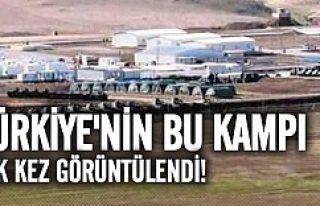 Türkiye'nin Başika'daki kampı ilk kez...
