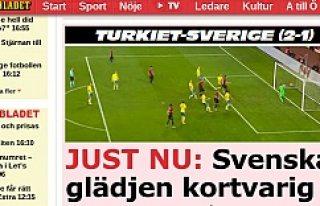 Türkiye'nin Galibiyeti İsveç Basınında Geniş...