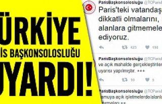 Türkiye'nin Paris Başkonsolosluğu'ndan...
