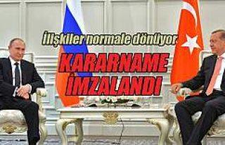 Türkiye-Rusya arasındaki ekonomik ilişkiler normale...