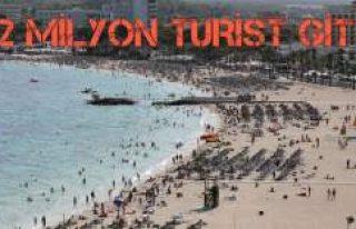 Türkiye'ye gitmeyen yabancı turisti İspanya...