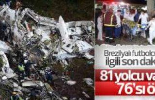 Uçak kazası: 76 kişi hayatını kaybetti