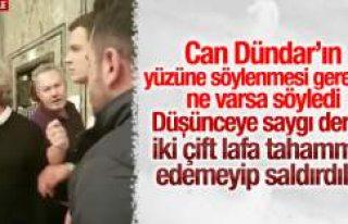 UETD Başkanı Murat Şahin Can Dündar'ı eleştirdi