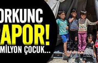 UNICEF mülteci çocuklar raporunu açıkladı