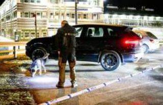 Uppsala'da bir kişi vuruldu