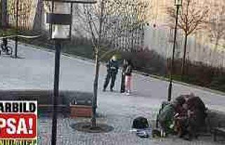 Vårby Gård Centrum tarandı; 1 kişi yaralı
