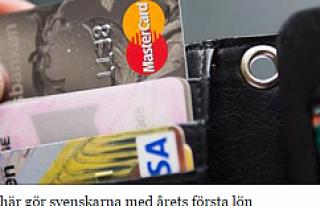 Yılın İlk maaşını alan İsveçliler derin bir...