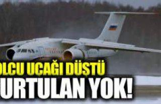 Yolcu uçağı düştü kurtulan yok!