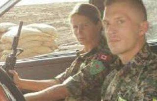 YPG saflarında savaşan ikisi İsveçli dört kişi...