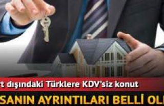 Yurdışında Türk vatandaşlarına KDV'siz...
