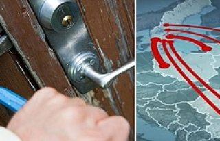 Yurtdışından gelen 1500 hırsız, İsveç'te...