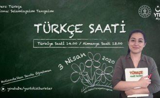 Avrupa'da yaşayan gurbetçi çocuklarına sosyal medyada Türkçe dersi başlıyor